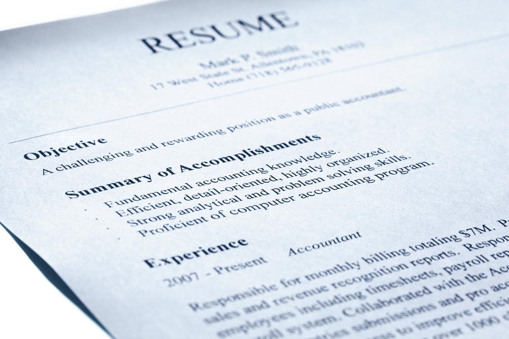 accounting resume can easily make sure of an interview resumestimecom